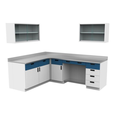 Muebles para laboratorio en Los Mochis