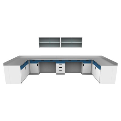 muebles para laboratorio escolar