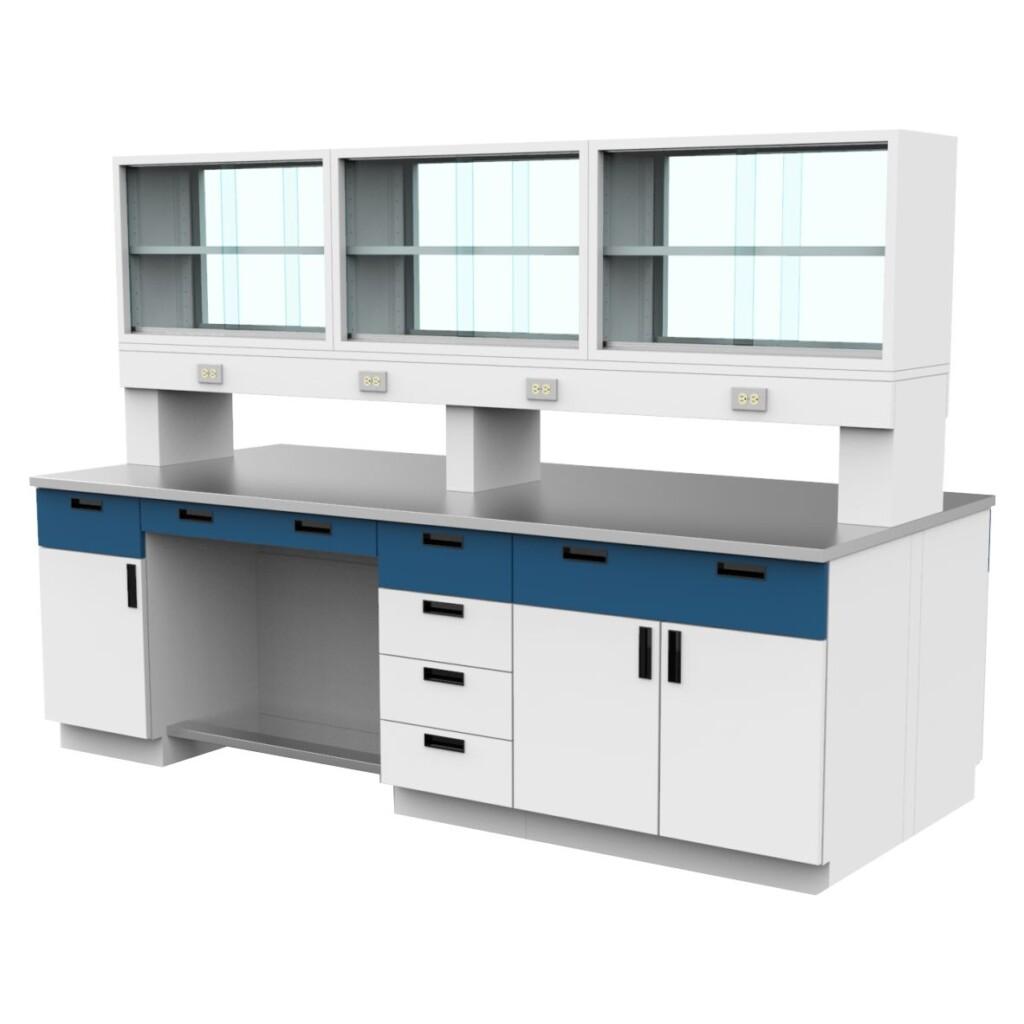 Instalación de muebles para laboratorio