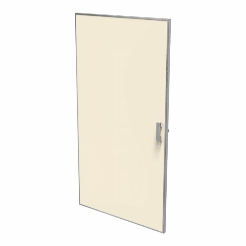 puerta mamparas sanitarias