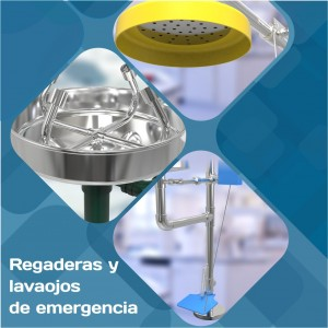 regaderas de emergencia catalogo